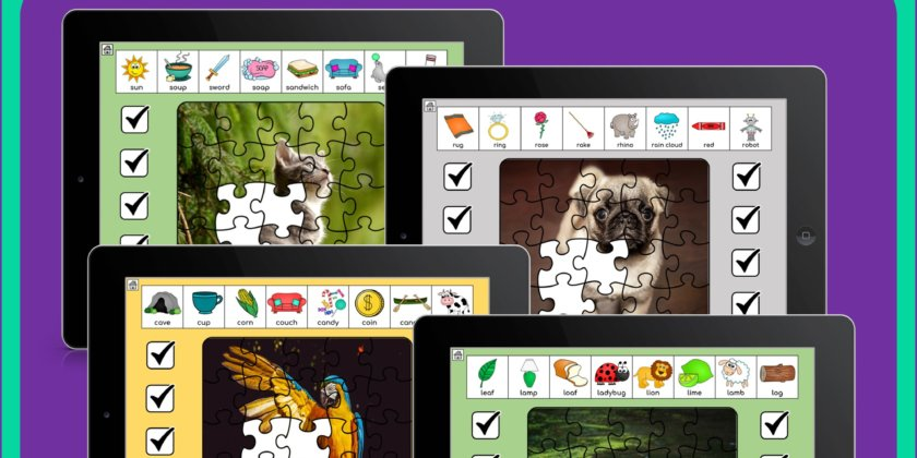 Speech Therapy Articulation Puzzles