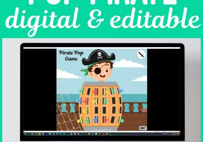 Digital Pop Pirate Game for Speech Therapy