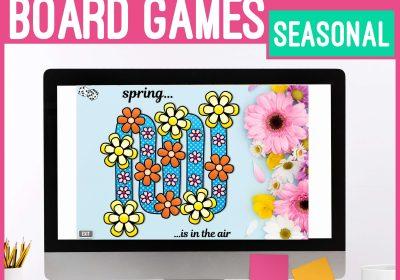 Seasonal Digital Board Games for Speech Therapy