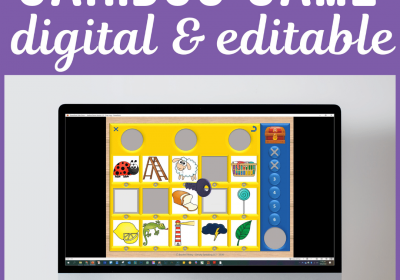 Digital Cariboo Game for Speech Therapy