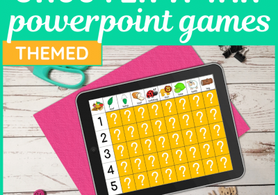 Digital Uncover a Win Games for Speech Therapy