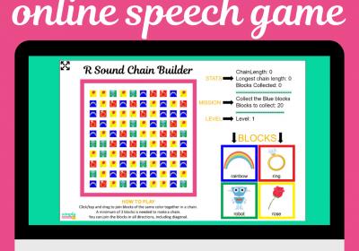 R Sound Chain Game