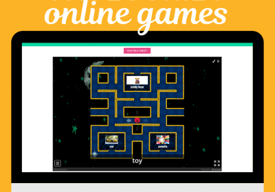 Online Category Games for Speech Therapy