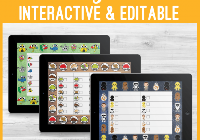Editable Interactive PDF Games for Speech Therapy