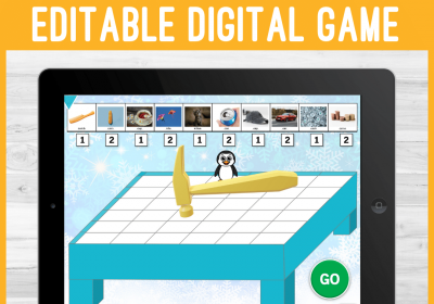 Digital Don't Break that Ice game for Speech Therapy
