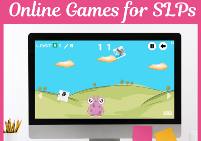 Feed the Monster Online Games for Speech Therapy