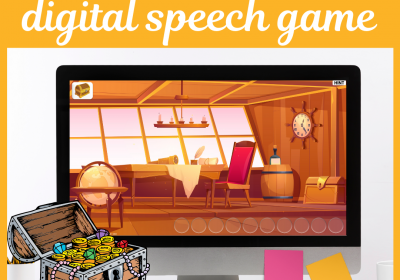 Digital Treasure Hunt Game for Speech Therapy