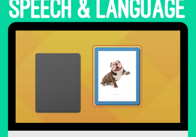 Online Flip Card Decks for Speech and Language Therapy