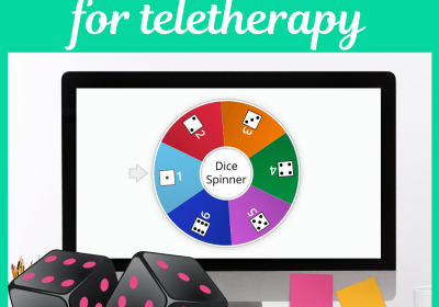 Teletherapy Dice