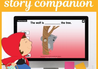Digital Little Red Riding Hood Story Companion for Teletherapy
