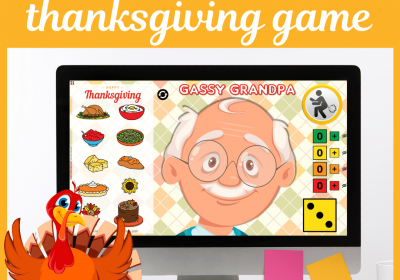 Gassy Grandpa Thanksgiving Game