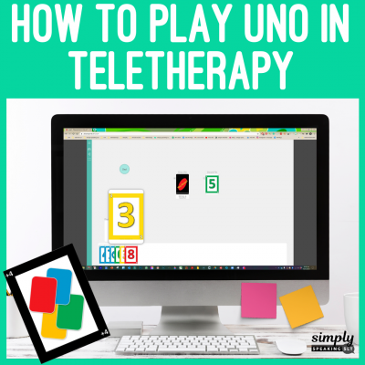 How to Play Uno in Teletherapy