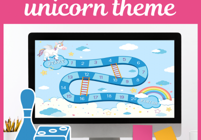 Online Board Game for Unicorn Themed Speech Therapy