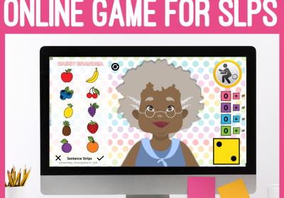 Gassy Grandma Online Speech Therapy Game