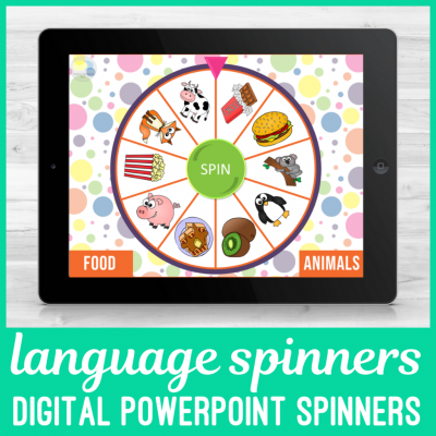Digital Language Spinners for Speech Therapy