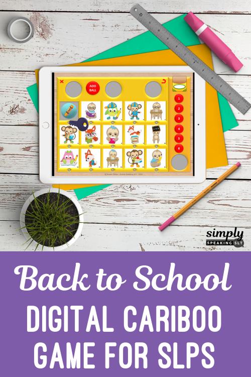 Back to school Cariboo Static Pin