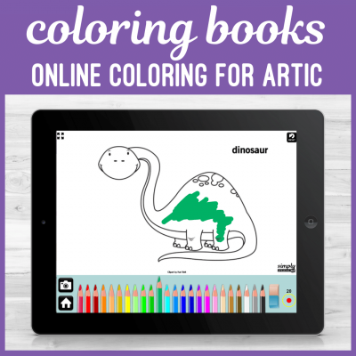 Speech Therapy Articulation Online Coloring Books