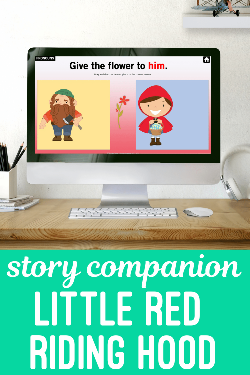Little Red Riding Hood Companion for Teletherapy