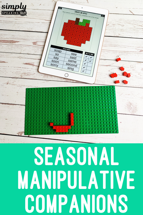 Seasonal Manipulative Companions Speech Game