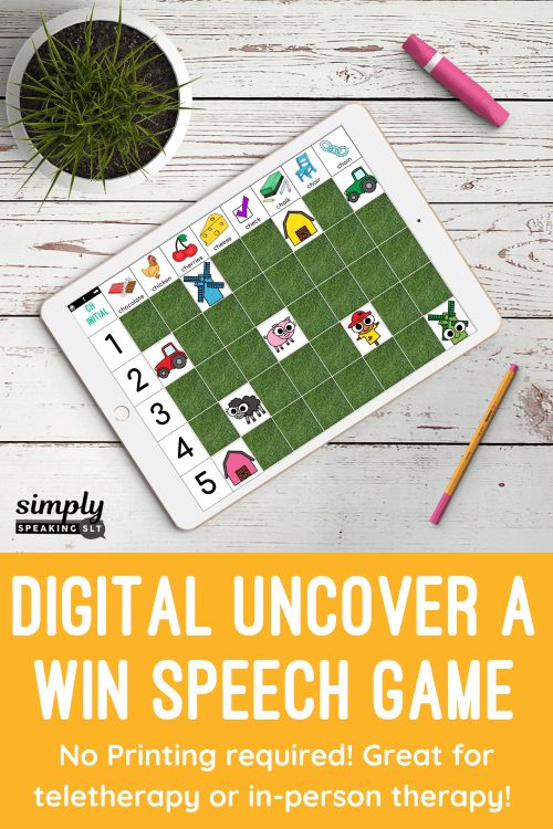 Uncover a Win Digital Speech Games