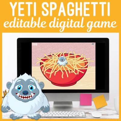 Yeti Spaghetti Digital Speech Game