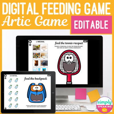 Digital Feeding Game Artic Game